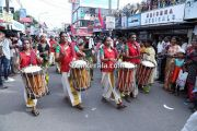 Nehru trophy 2014 ghoshayatra chenda melam by women