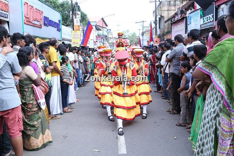 Nehru trophy boat race 2014 ghosha yatra band