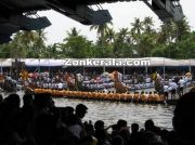 Snake boats for mass drill