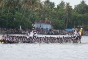 Onam boat race pic