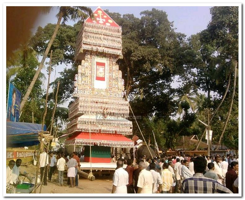 Puttingal temple meena bharani 2