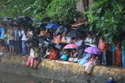 Viewers despite rains for payippad boat race