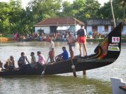 Anari boat during payippad race