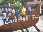 Vellamkulangara snake boat at payippad