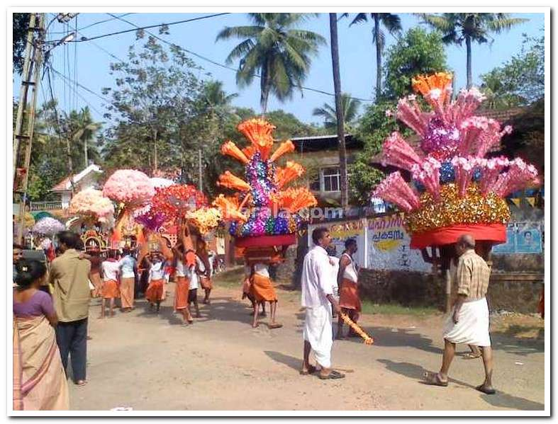 Colourful kavadi