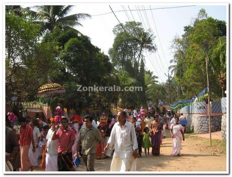 Kavadi procession