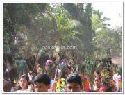 Perunna kavadi procession