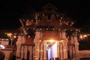 Poornathrayeesa temple festival photo 1 282