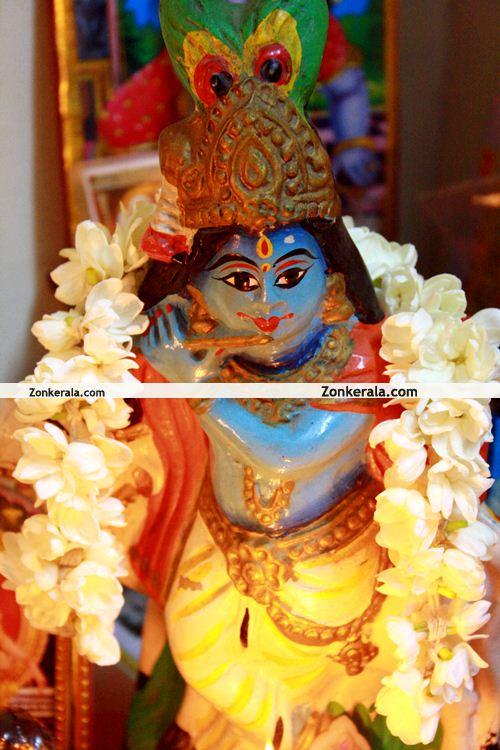 Sri Krishna Idol, Vishu 2011