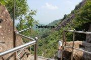 Steps down from edakkal caves 418