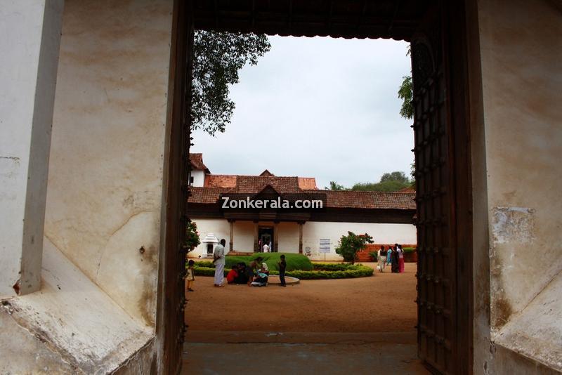Padmanabhapuram palace entrance 4