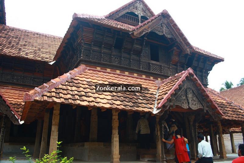 Padmanabhapuram palace front 8