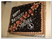 Chocolate birthday cakes 1