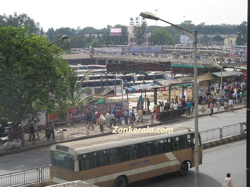 Bangalore majestic bus stand