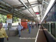 Belgaum railway platform