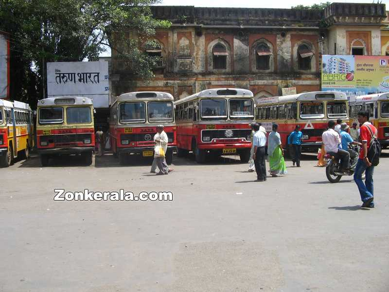 Kolhapur bus stand photo