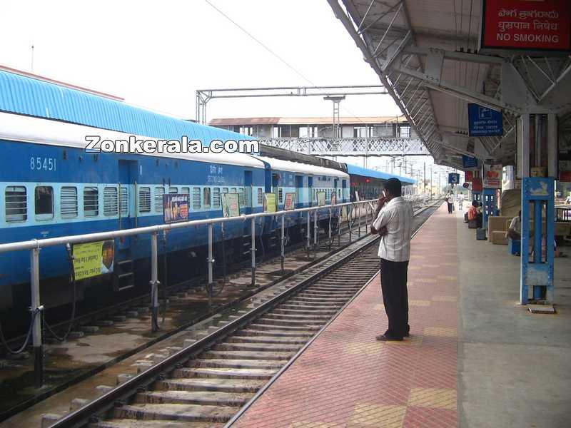 Renigunta junction railway station