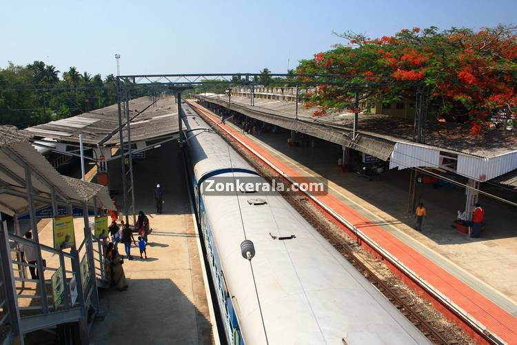 Alappuzha railway station 7