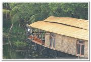 Houseboat at thakazhy