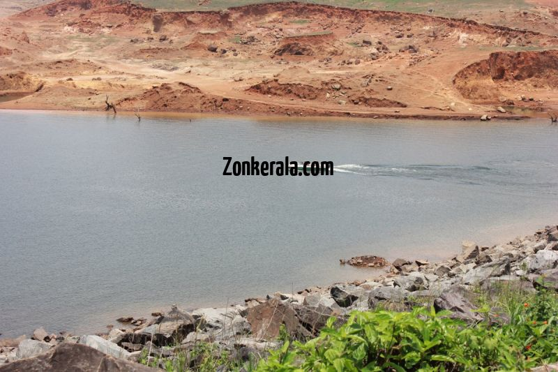 Banasurasagar dam view from top 676