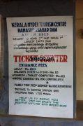 Entrance fee details of banasurasagar dam wayanad 260