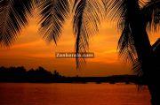 An evening landscape in kerala