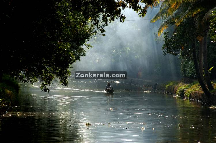 Early morning in alappuzha