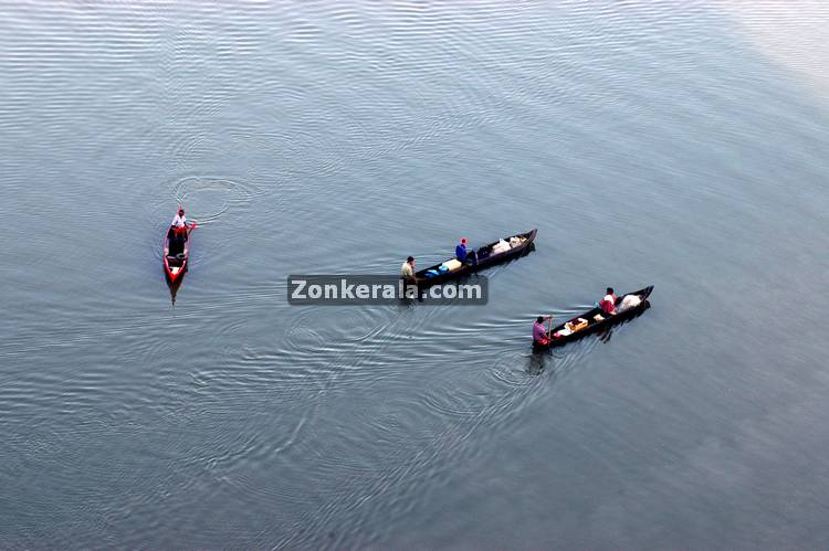 Small boats in backwaters