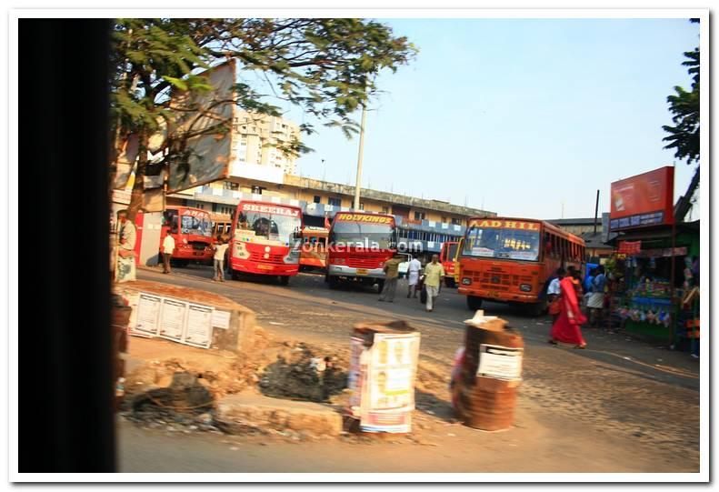 Kaloor bus stand kochi