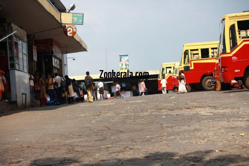 Kottayam ksrctc bus station 343