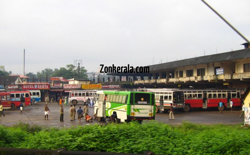 Kottayam private bus stand 620