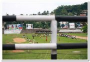 Match at nagambadom ground kottayam