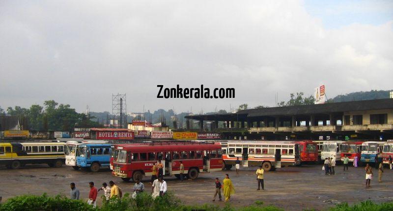 Nagampadam private bus stand kottayam 326