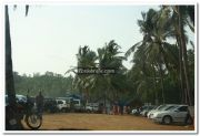 Kovalam parking area