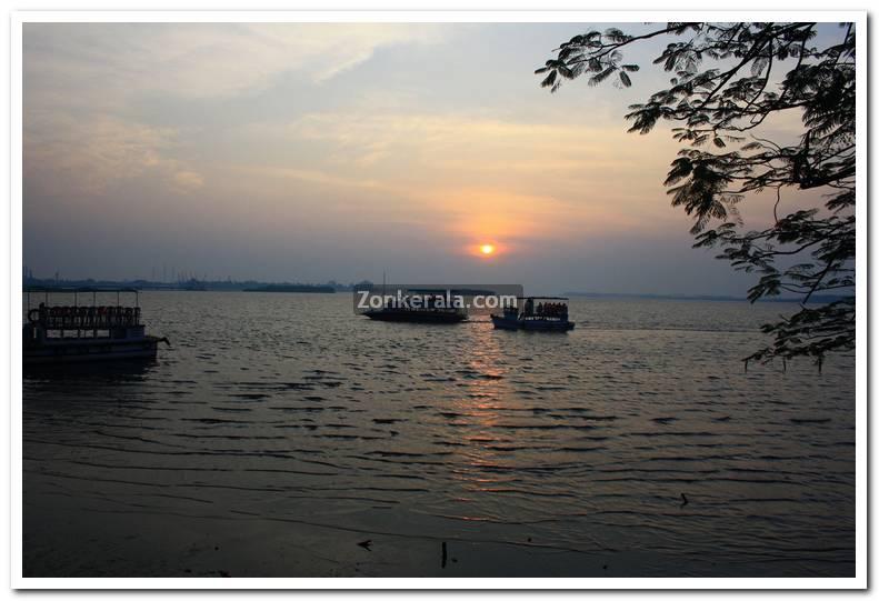 Sunset at marine drive 2