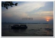 Sunset at marine drive 3