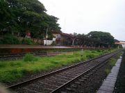 Kerala railway platform
