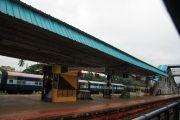 Payyannur north kerala railway platform