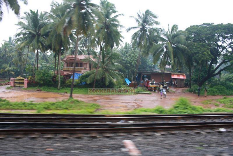 Rainy day near kozhikkode