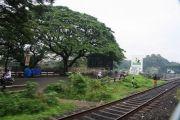 Train nearing kallayai puzha bridge