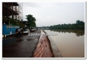 Rain drenched thalassery photos 1