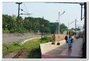 Tiruvalla railway platform