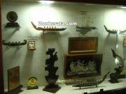 Awards displayed in museum