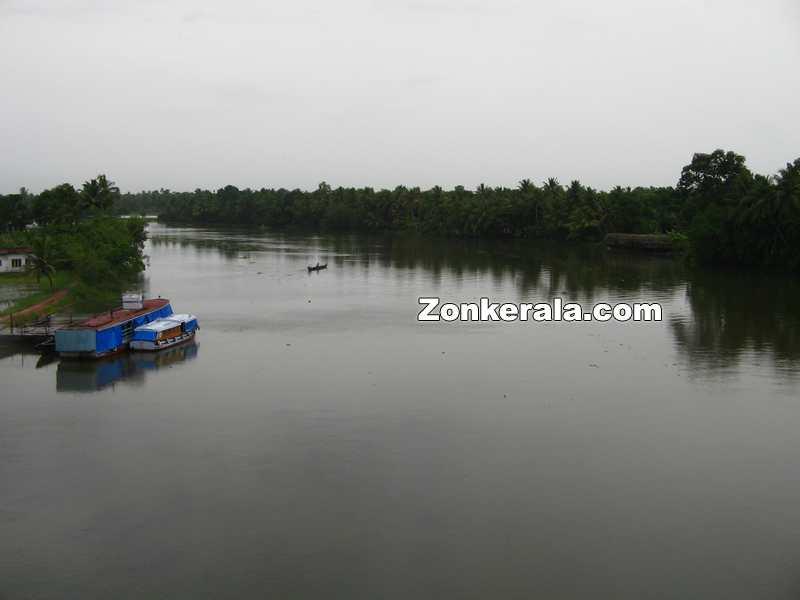 River from thakazhy bridge