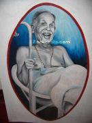 Thakazhy painting in museum