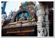 Attukal devi temple gopuram idols 7