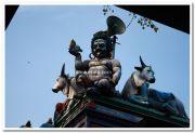 Attukal devi temple gopuram idols 8