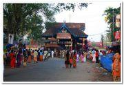 Haripad temple front entrance