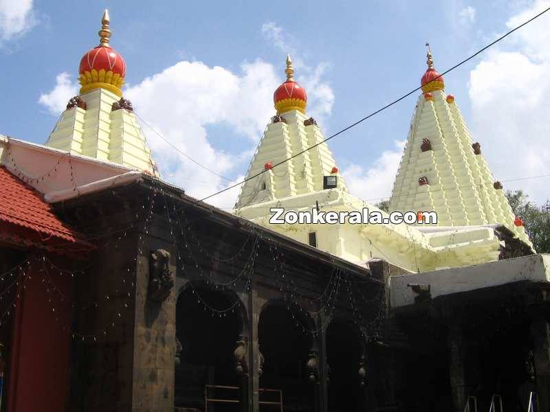Mahalaxmi temple gopurams