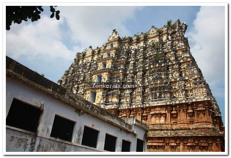 Sree Padmanabhaswamy Temple Gopuram Photo